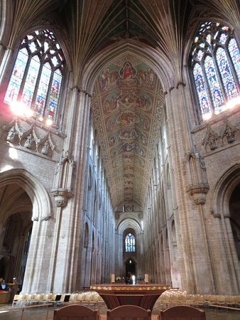 Ely cathedral, built in the XI. century.
