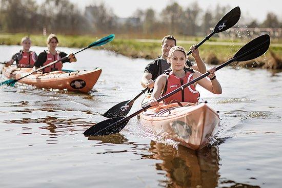 Bergschenhoek, Países Baixos: Cursus kajakken voor 2 personen