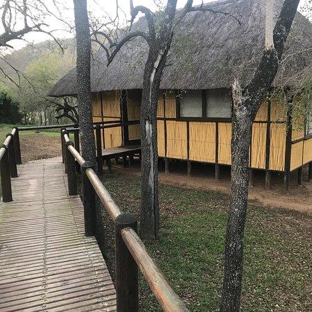 Hluhluwe Game Reserve, África do Sul: Hlatikulu 8 Bed Bush Lodge
