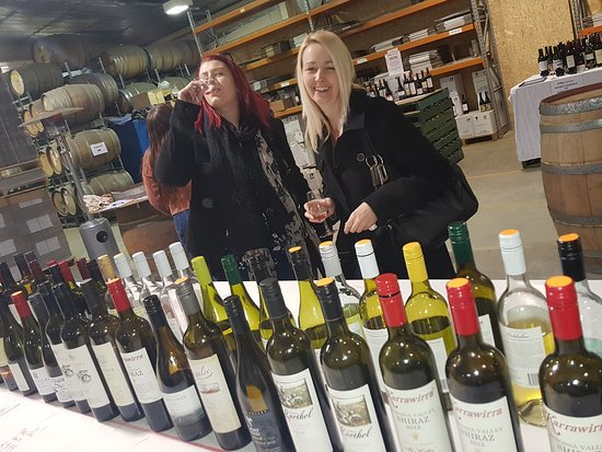 Angaston, Australia: 80 bottles of wines opened for tasting & purchase at Glug Barossa  4 times a year.