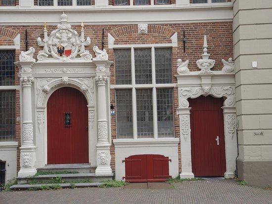 Inkom van het oude stadhuis