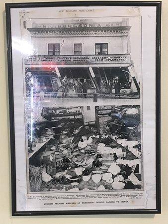 Photo of Murchison earthquake