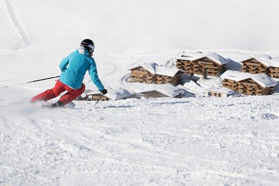 Kuhtai, Áustria: Ski-in/Ski-out Resort