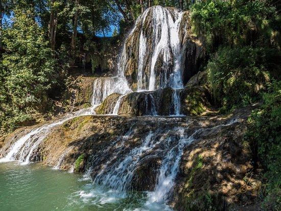Lucky, Slovakia: Waterfall of 13m high