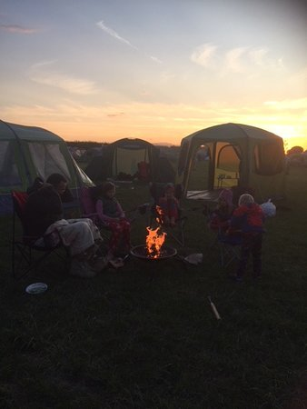 Eastry, UK: Campfire