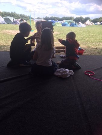 Eastry, UK: Play tent