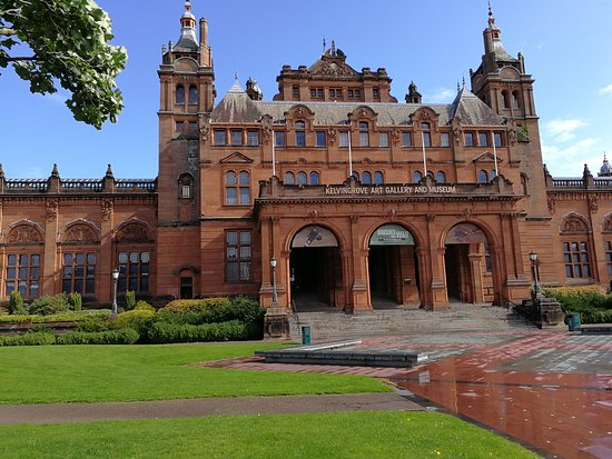 Kelvingrove Art Gallery and Museum: Imponerende flot bygning