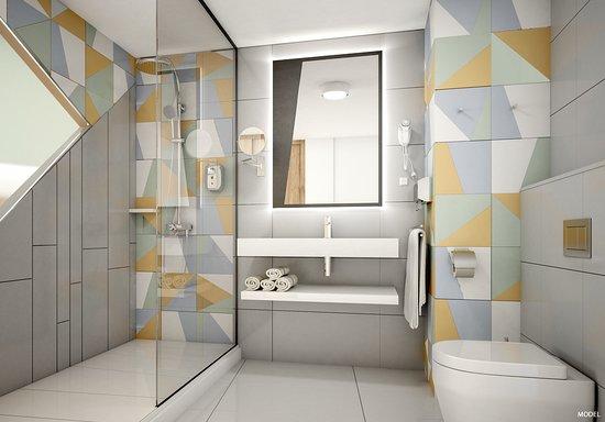 Hotel Riu Playa Park: Double room bathroom