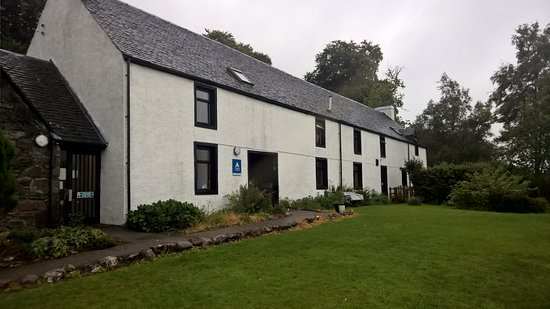 Ratagan, UK: Front view of hostel