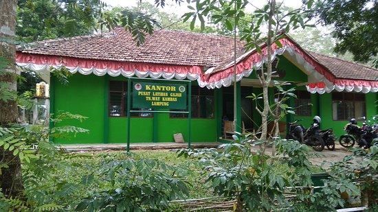 Lampung, Indonesia: Kantor administrasi