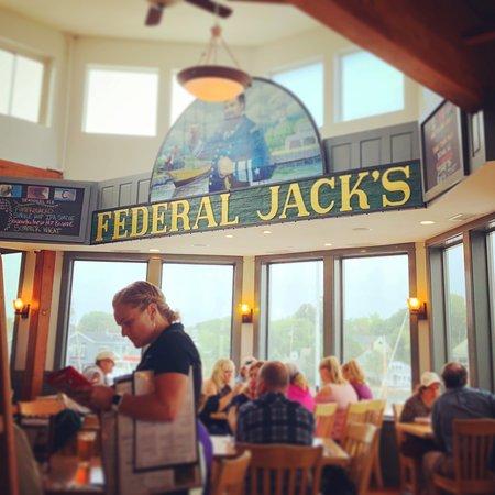 Federal Jacks Restaurant and Brewpub : Main Dining Room at Federal Jack's