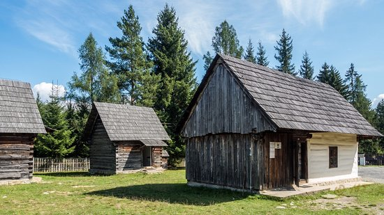 Open-air Museum of Liptov Village in Pribylina