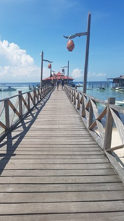 Scuba Junkie Mabul Beach Resort: 20180908_140135_large.jpg