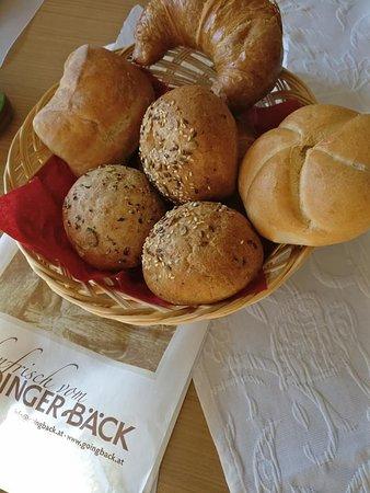 Going, Østrig: Bestelde broodjes worden 's morgen bezorgd.