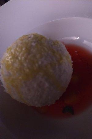 Restaurant Terrazza Danieli: Lemon bomb