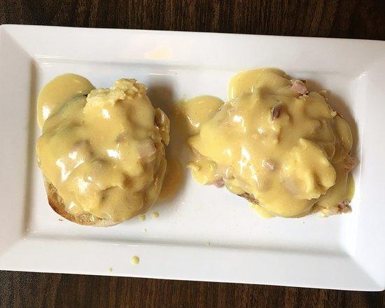 East Rochester, NY: Sophia's fluffy eggs benedict