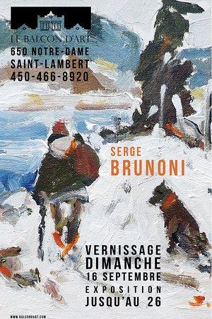 Saint-Lambert, Canadá: Solo Exposition - Serge Brunoni 2018