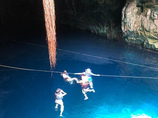 Cuzama, México: Cenote I- Group