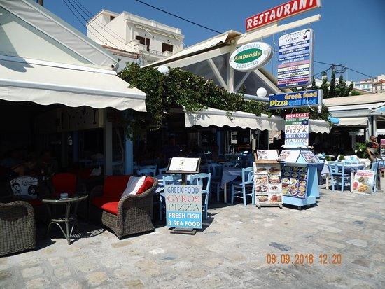 Ambrosia Med Spisekort Picture Of Ambrosia Restaurant Pizzeria