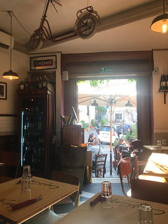 Amazing place for delicious food in Trastevere
