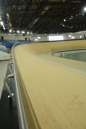 National Cycling Centre: indoor perspective