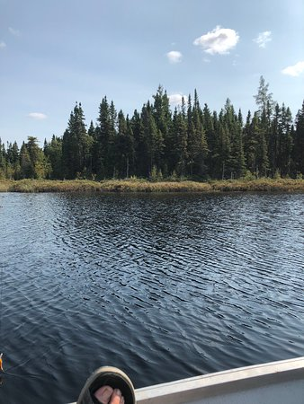 Maniwaki, Canada: Out on one of the lakes