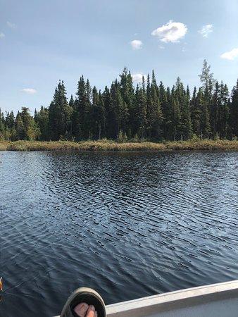 Maniwaki, Kanada: Out on one of the lakes