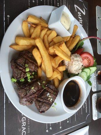 Borculo, เนเธอร์แลนด์: De biefstuk plate