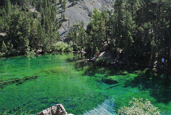Lac Vert : Lago Verde