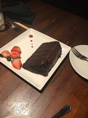 West New York, NJ: Wall of chocolate cake