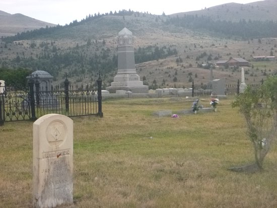 Virginia City, MT: Cemetery