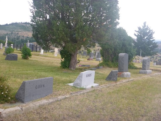 Virginia City cemeterys.....5 Gohns