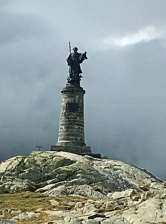Saint-Rhemy-en-Bosses, Italia: Presque au sommet du col.