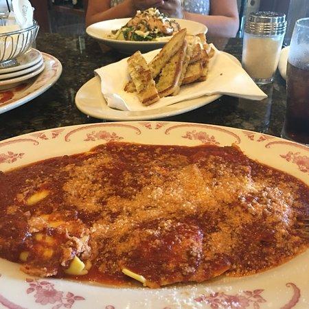 Maggiano's - Indianapolis: Four Cheese Ravoili