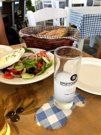 Kitries, Grecia: Greek Salad