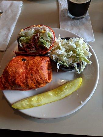 smoked turkey wrap picture of the flat iron cafe cleveland rh tripadvisor com