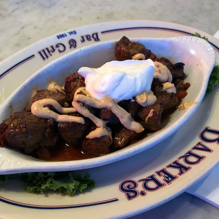 Barker's Bar & Grill: Beef tips