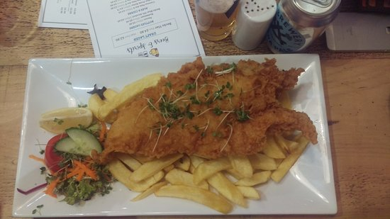 Chipwick: Large fish & chips