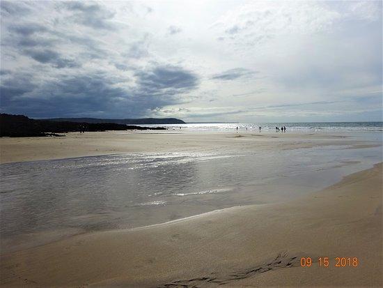 Barricane Beach: at low tide