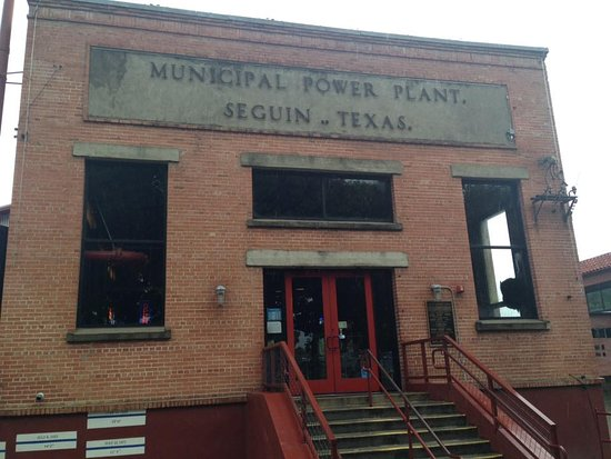 Front Of The Restaurant So Unique Picture Of Power Plant Texas