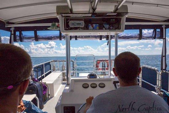 North Captiva Island, FL: Ferry Boat