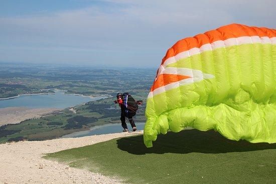Mount Tegelberg: Gleitfliegen
