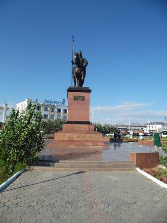 Kyzylorda, Cazaquistão: front view