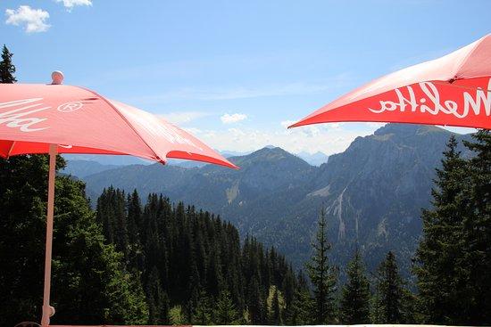 Mount Tegelberg: Der Blick