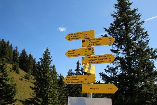 Mount Tegelberg: Wanderwege