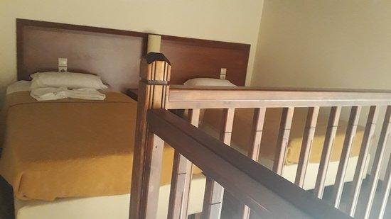 Tavronitis, Grekland: łóżka na piętrze
