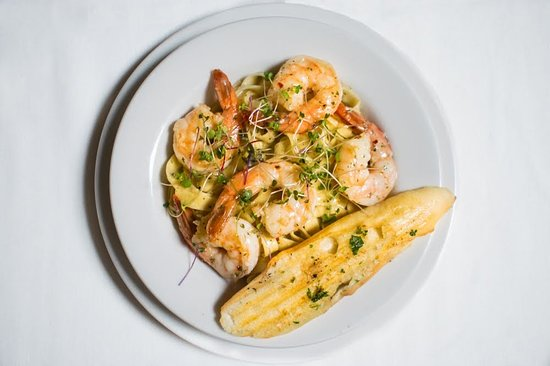 Colonie, Estado de Nueva York: shrimp scampi