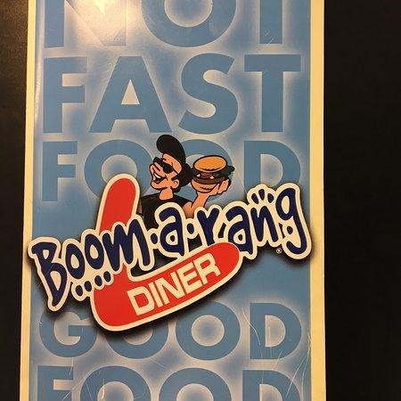 Blanchard, OK: Boomarang Diner