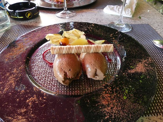Chexbres, Zwitserland: Mousse au chocolat... Excellent