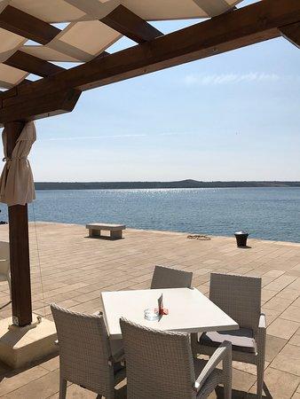 Maslenica, Kroatia: Great view ...